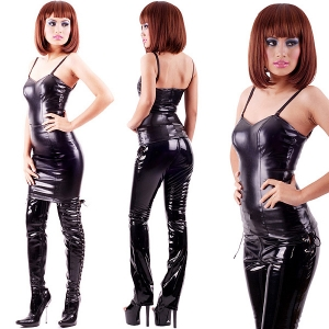 Leatherette Fetish Top