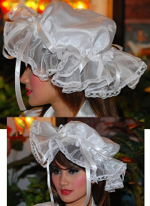 Luxury Maids Bonnet