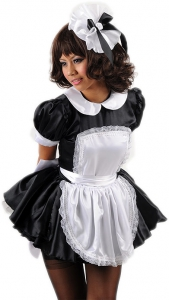 sexy freche Sissy French Maid