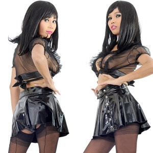 SALE! PVC Popper Skirt