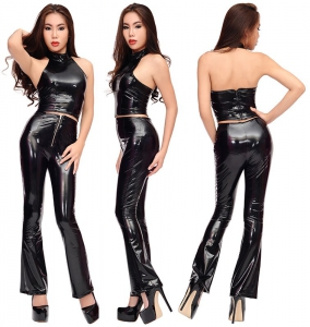 custom fitted PVC fetish pants